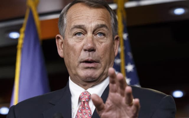 Boehner Threat