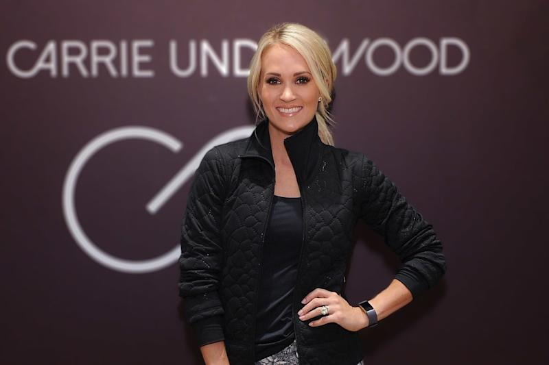 Carrie Underwood Shares New Photo Five Months After Getting Facial Stitches, and She Looks So Happy