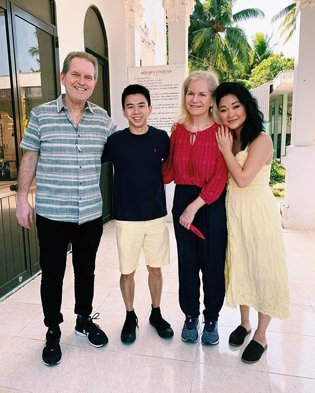"""<p>In her Father's Day post, Condor shared a photo of her family in front of the orphanage from which she and her brother were adopted. """"HAPPY FATHERS DAY TO THE BEST MAN ILL EVER KNOW ❤️ ,"""" she wrote. """"happy Father's Day daddio ❤️.""""</p><p><a href=""""https://www.instagram.com/p/CBtSqpdFo1x/?utm_source=ig_web_copy_link"""" rel=""""nofollow noopener"""" target=""""_blank"""" data-ylk=""""slk:See the original post on Instagram"""" class=""""link rapid-noclick-resp"""">See the original post on Instagram</a></p>"""