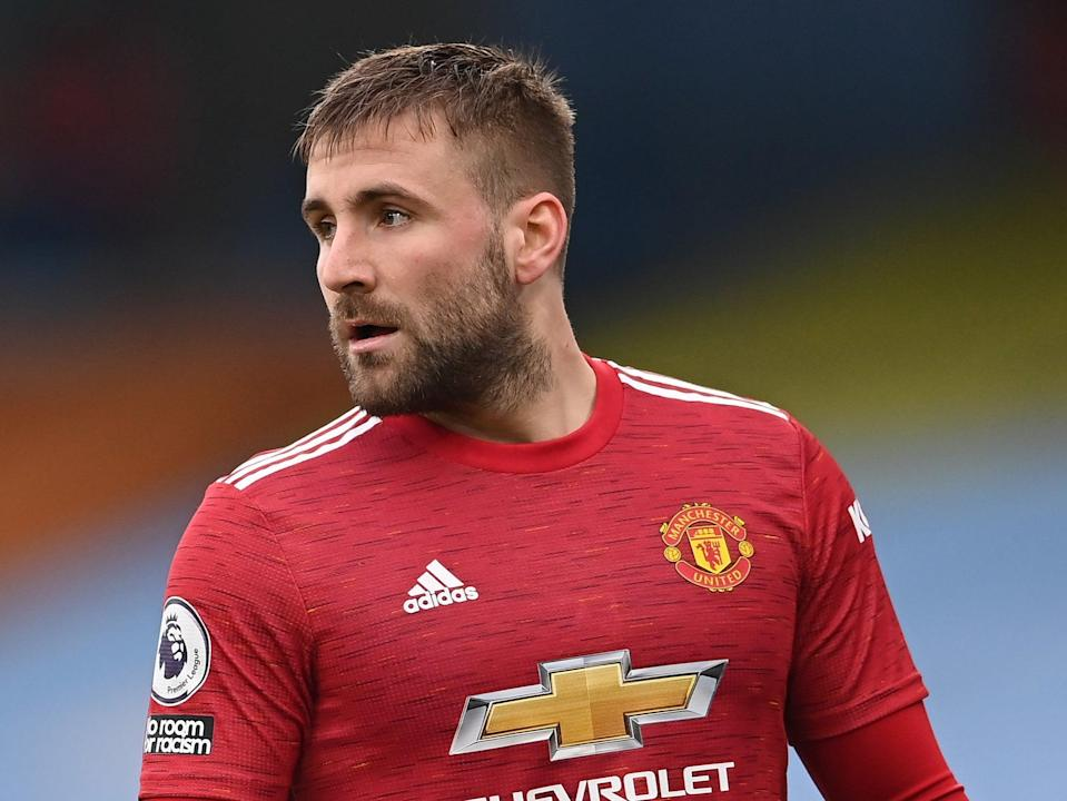 Manchester United defender Luke Shaw (Getty Images)