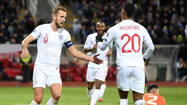 Gareth Southgate saw England score four goals on Sunday and he is enjoying their new-found deadliness in attack ahead of Euro 2020.
