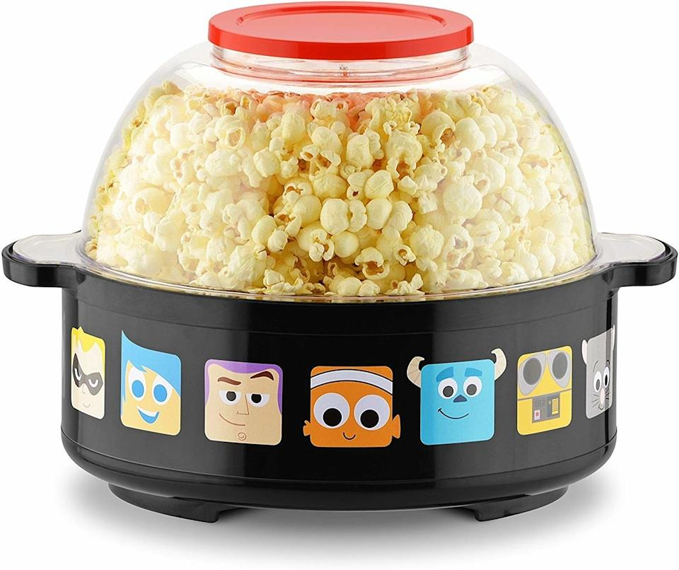 """Make a fun snack for the entire fam when it's movie night and you're watching """"The Incredibles""""or """"Finding Nemo.""""<br /><br /><strong>Promising review:</strong>""""Couldn't resist the adorable outside. Purchased to make popcorn in my preschool classroom. <strong>It is one of my favorite purchases! Kids LOVE watching the popcorn pop inside, and the outside doesn't get too hot</strong>. Popcorn is delicious and doesn't burn. We are really enjoying it!"""" —<a href=""""https://amzn.to/3hF5bov"""" target=""""_blank"""" rel=""""nofollow noopener noreferrer"""" data-skimlinks-tracking=""""5851345"""" data-vars-affiliate=""""Amazon"""" data-vars-href=""""https://www.amazon.com/gp/customer-reviews/RQEW9LXDEOR3F?tag=bfnusrat-20&ascsubtag=5851345%2C10%2C34%2Cmobile_web%2C0%2C0%2C16317742"""" data-vars-keywords=""""cleaning,fast fashion"""" data-vars-link-id=""""16317742"""" data-vars-price="""""""" data-vars-product-id=""""20939451"""" data-vars-product-img="""""""" data-vars-product-title="""""""" data-vars-retailers=""""Amazon"""">msmelly<br /><br /></a><a href=""""https://amzn.to/3frFXHA"""" target=""""_blank"""" rel=""""noopener noreferrer""""><strong>Get it from Amazon for$35.99.</strong></a>"""