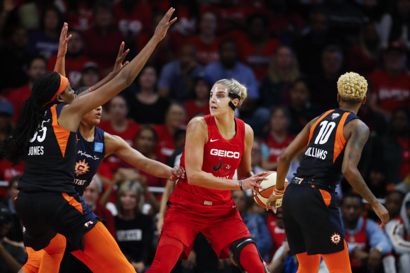 Elena Delle Donne says WNBA denied her medical opt-out request