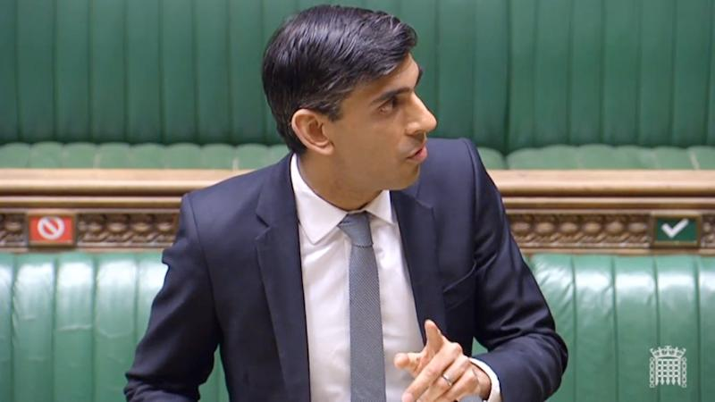 Chancellor Rishi Sunak, who is celebrating his 40th birthday today, makes a statement in the House of Commons on the government's economic package in response to the coronavirus outbreak.