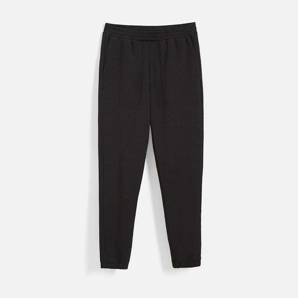 """<p><strong>Brooklinen</strong></p><p>brooklinen.com</p><p><strong>$90.00</strong></p><p><a href=""""https://go.redirectingat.com?id=74968X1596630&url=https%3A%2F%2Fwww.brooklinen.com%2Fproducts%2Fbushwick-pant&sref=https%3A%2F%2Fwww.cosmopolitan.com%2Fstyle-beauty%2Ffashion%2Fg32619153%2Fgifts-for-man-who-has-everything%2F"""" rel=""""nofollow noopener"""" target=""""_blank"""" data-ylk=""""slk:Shop Now"""" class=""""link rapid-noclick-resp"""">Shop Now</a></p><p>Give him these super-soft fleece pants for the days when he just doesn't feel like getting out of his bed, but he has to.</p>"""