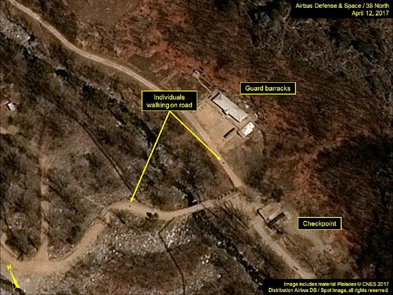 North Korea plans to destroy its nuclear test facility as a goodwill gesture (AFP Photo/HO)