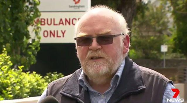 Neale Folwell says his mother's attacker should be in jail. Source: 7 News