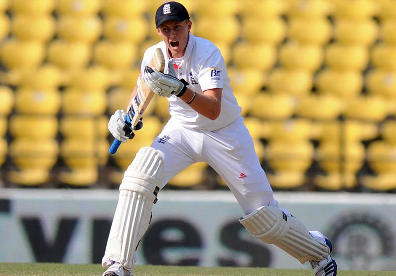 Joe Root bats on Day 5 of the fourth Test between India and England at the Jamtha Stadium in Nagpur, Monday, December 17, 2012