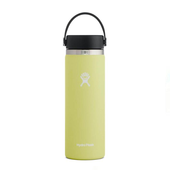 """If you're gifting a Gen Z-er, they probably already have a <a href=""""https://www.glamour.com/story/hydro-flask-you-need-this?mbid=synd_yahoo_rss"""" rel=""""nofollow noopener"""" target=""""_blank"""" data-ylk=""""slk:Hydro Flask"""" class=""""link rapid-noclick-resp"""">Hydro Flask</a>—but do they have the fresh new hues the brand just launched for spring? Bring some pastel energy into their life with the new selections of yellow, purple, and pink. $38, Hydro Flask. <a href=""""https://www.hydroflask.com/20-oz-wide-mouth?"""" rel=""""nofollow noopener"""" target=""""_blank"""" data-ylk=""""slk:Get it now!"""" class=""""link rapid-noclick-resp"""">Get it now!</a>"""