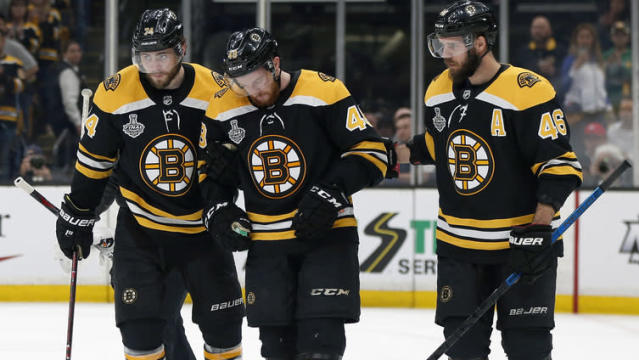 BOSTON - It looks like Matt Grzelcyk is going to run out of time when it comes to returning to the Stanley Cup Final.