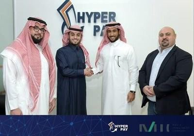 HyperPay, the leading payment processing company in MENA, closes an investment round led by Mad'a Investment Company (PRNewsfoto/HyperPay)