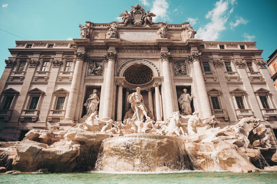 <p><em>Flight time: Two hours 35 minutes</em><br><span>Fill up on fresh pizza and fascinating history with a trip to Italy's cosmopolitan capital. There's plenty to do here on the cheap, from throwing a coin into the Trevi Fountain for good luck and climbing the Spanish Steps (both free). Don't miss a visit to the Colosseum gladiatorial arena, the most thrilling of the city's ancient sights. easyJet flies London to Rome from £25.18 one way.</span> </p>