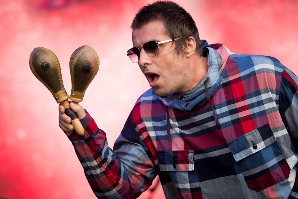 <p>Live(stream) Forever: Liam Gallagher will feature as part of IVW 2021</p> (Getty Images)