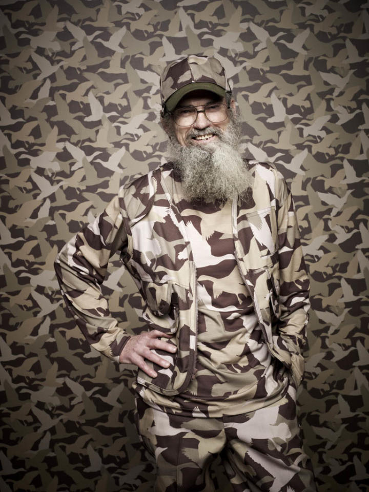 "Si Robertson of the A&E series ""Duck Dynasty."""
