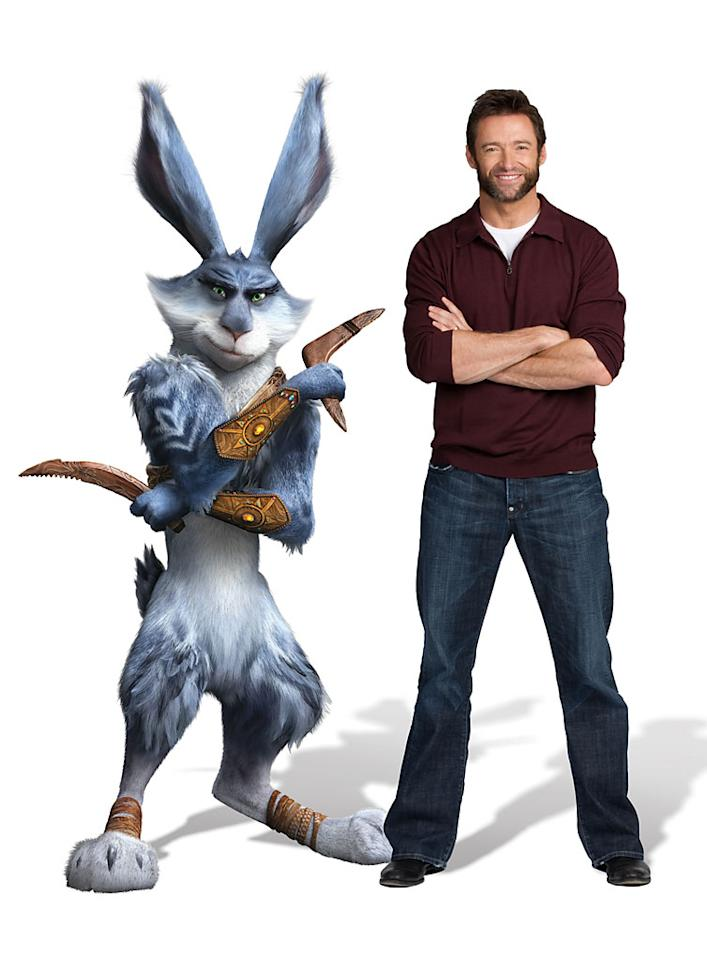 "Hugh Jackman as Bunny in DreamWorks' ""Rise of the Guardians"" - 2012"