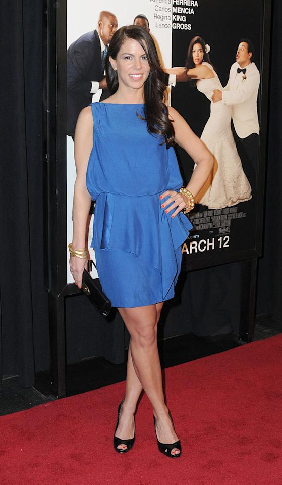 """Michelle Ribeiro at the New York City premiere of <a href=""""http://movies.yahoo.com/movie/1810093971/info"""">Our Family Wedding</a> - 03/09/2010"""
