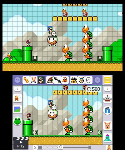 super mario maker for nintendo ds hands on