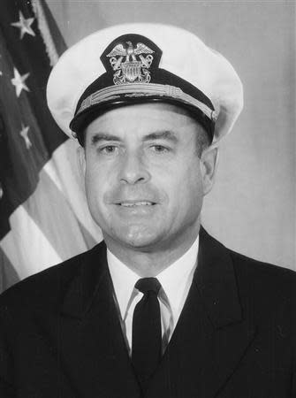 U.S. Navy Comdr. Jeremiah A. Denton, Jr. is shown in this U.S. Navy photo from the National Archives. REUTERS/U.S. Navy