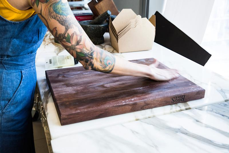 How to Clean and Care for a Wooden Cutting Board So You Can Use It Forever