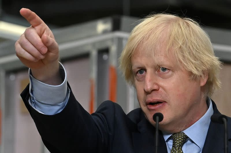 UK's Johnson toughens Huawei rhetoric: talks of 'hostile state vendors'