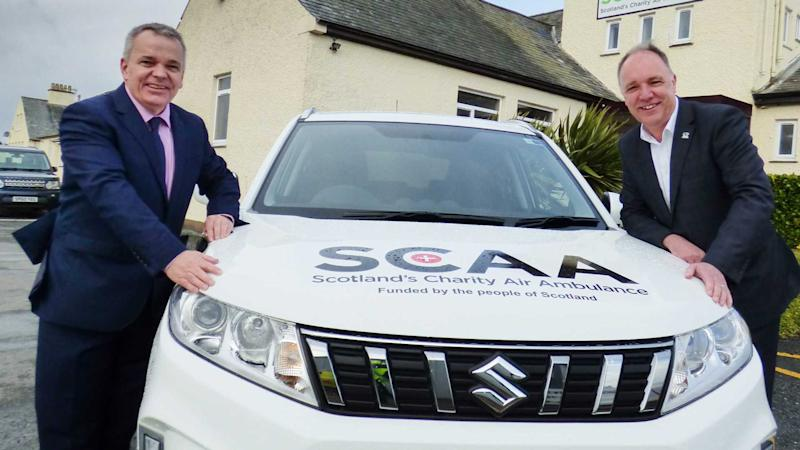 Suzuki Vitara Scotland's Charity Air Ambulance
