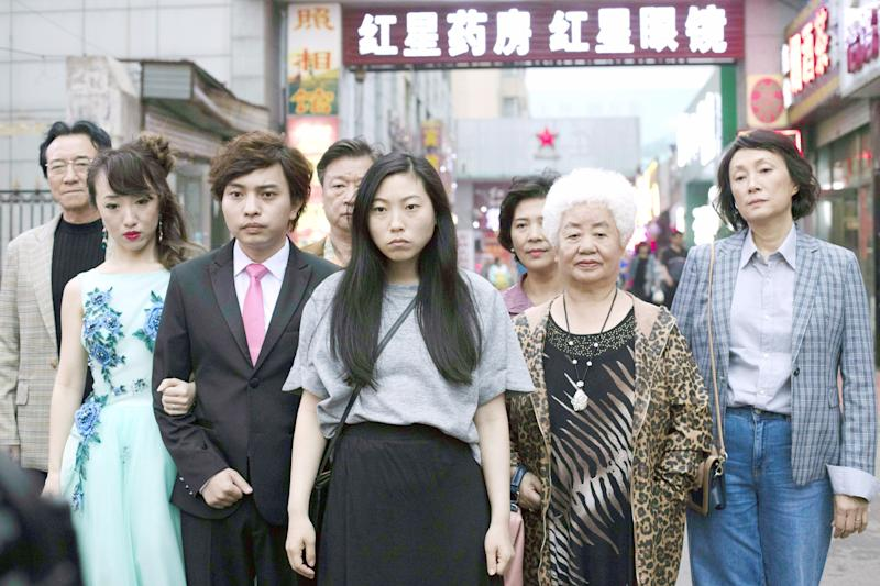 Awkwafina heads up the ensemble cast of 'The Farewell' (Photo: A24 /courtesy Everett Collection)