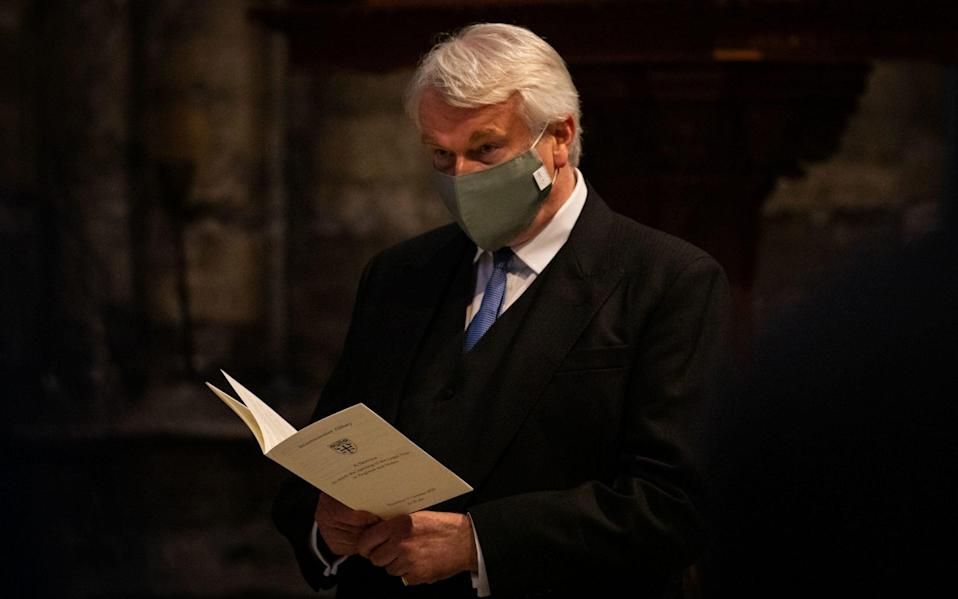 Lord Chief Justice Lord Burnett of Maldon at the Judge's Service at Westminster Abbey - Aaron Chown/PA