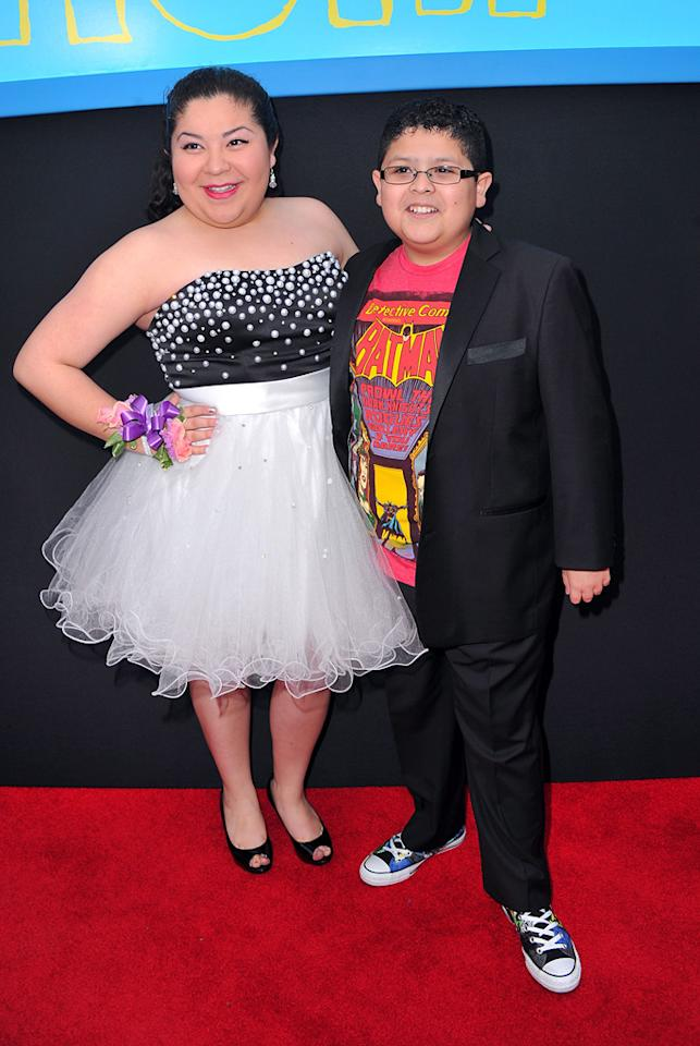 "<a href=""http://movies.yahoo.com/movie/contributor/1810062905"">Raini Rodriguez</a> and <a href=""http://movies.yahoo.com/movie/contributor/1809705438"">Rico Rodriguez</a> attend the Los Angeles premiere of <a href=""http://movies.yahoo.com/movie/1810189802/info"">Prom</a> on April 21, 2011."