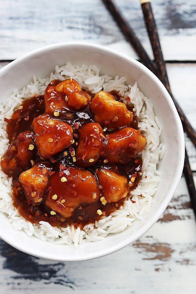 "<p>This sweet and spicy chicken dish will send you straight to flavortown.</p><p>Get the recipe from <a href=""http://lecremedelacrumb.com/2014/12/honey-sriracha-chicken.html"" rel=""nofollow noopener"" target=""_blank"" data-ylk=""slk:Creme de la Crumb"" class=""link rapid-noclick-resp"">Creme de la Crumb</a>.</p>"