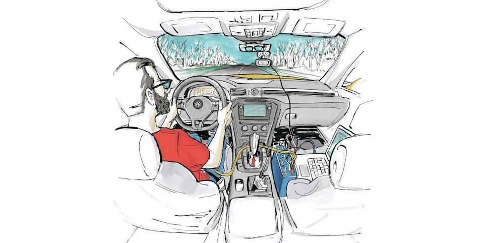 Photo credit: Illustrations by Brett Affrunti - Car and Driver