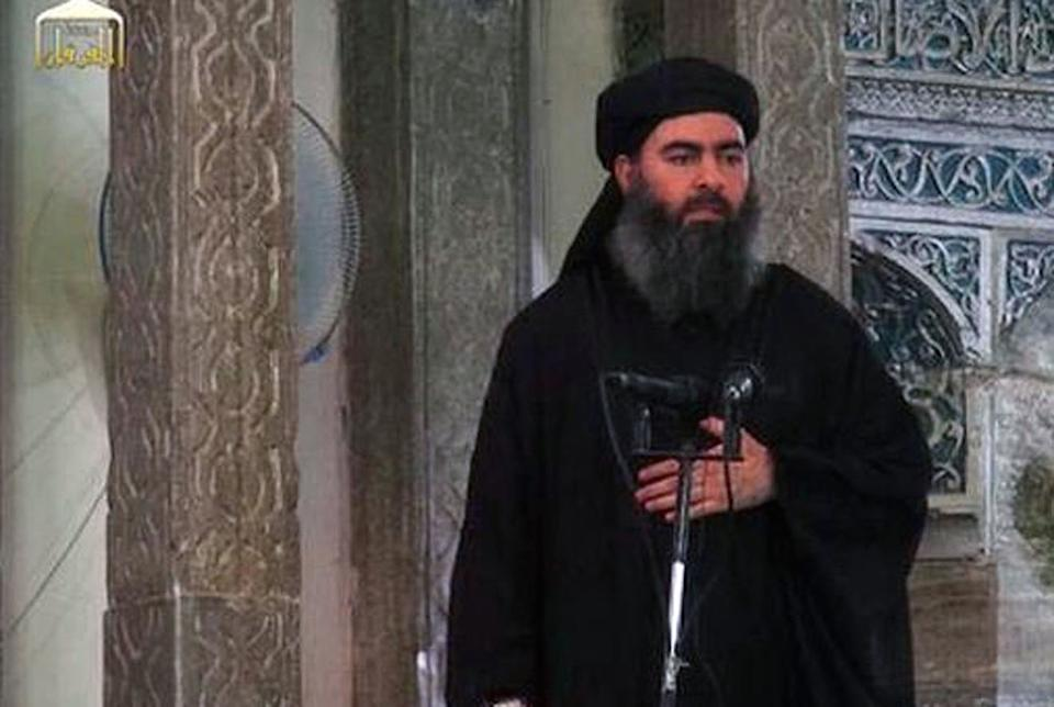 Former Isis leader Abu Bakr al-Baghdadi is dead after a US military operation in Syria (Picture: PA)
