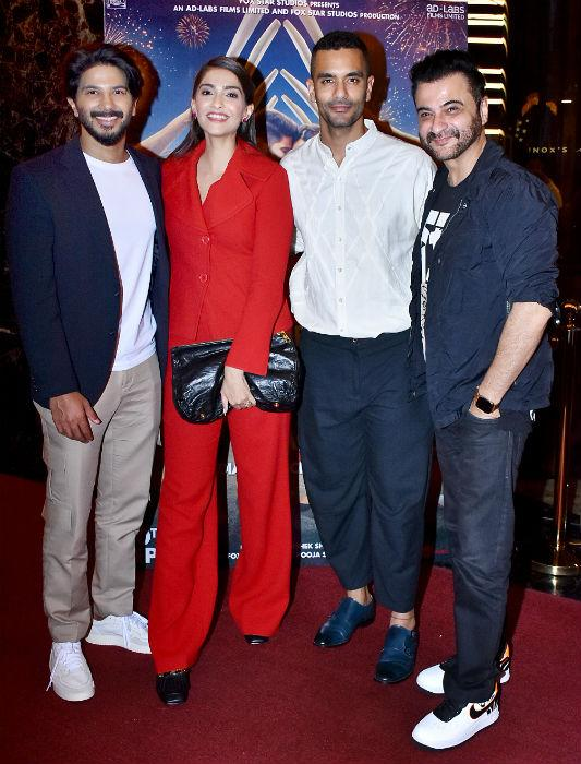 The cast of The Zoya Factor