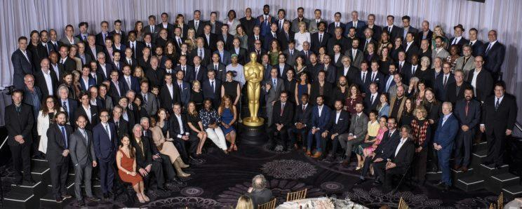 Oscar nominees… assemble for annual lunch – Credit: AMPAS