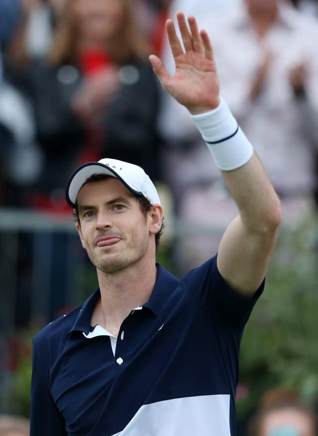 Andy Murray is feeling better about the future (Steven Paston/PA)