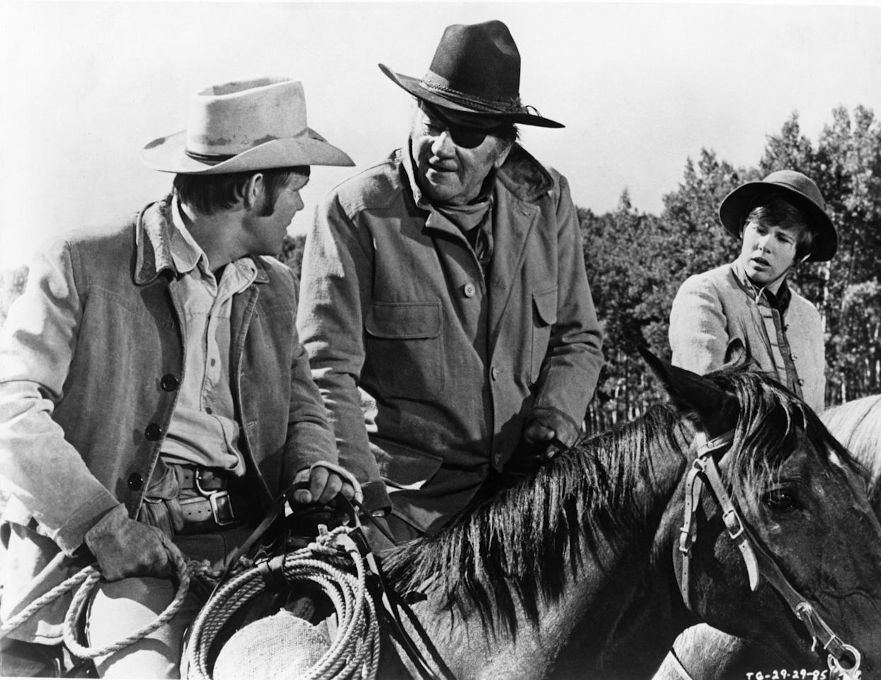 <p>Both the 1969 John Wayne classic and the 2010 Jeff Bridges' remake of this classic Western are streaming on Hulu. If you are a big fan of the genre, watch both and compare the films. Want even more John Wayne? <em>Rooster Cogburn</em> is streaming on Amazon, pitting Wayne against Katharine Hepburn.</p>