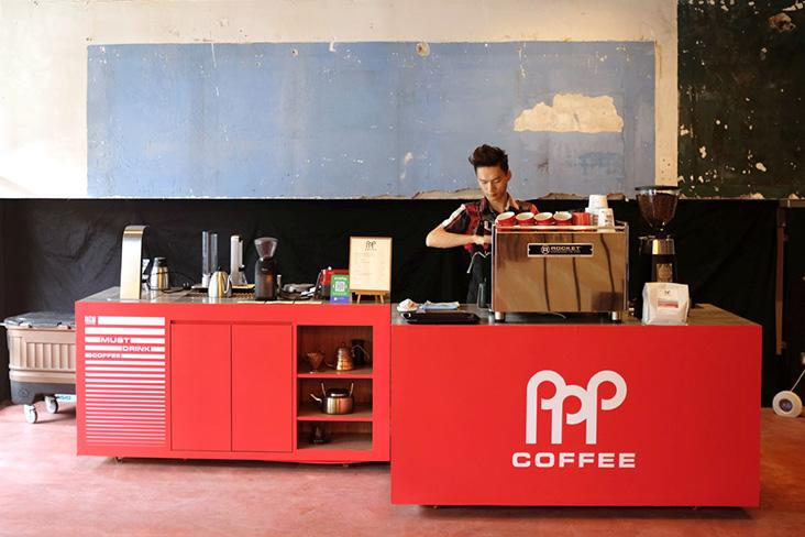PPP Coffee has a new pop-up café at REXKL. — Pictures by Kenny Mah