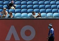 The Australian Open has encountered a series of problems related to the coronavirus