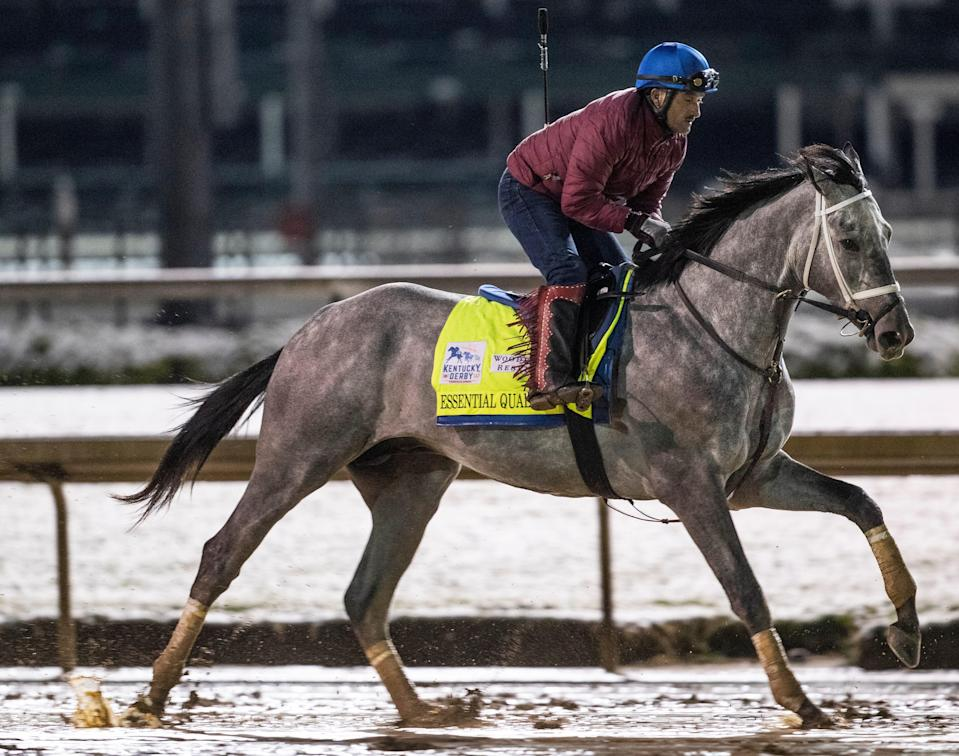 Essential Quality is the Kentucky Derby favorite.