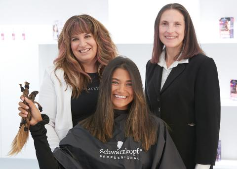 Henkel Observes Breast Cancer Awareness Month with Hair Donation Event