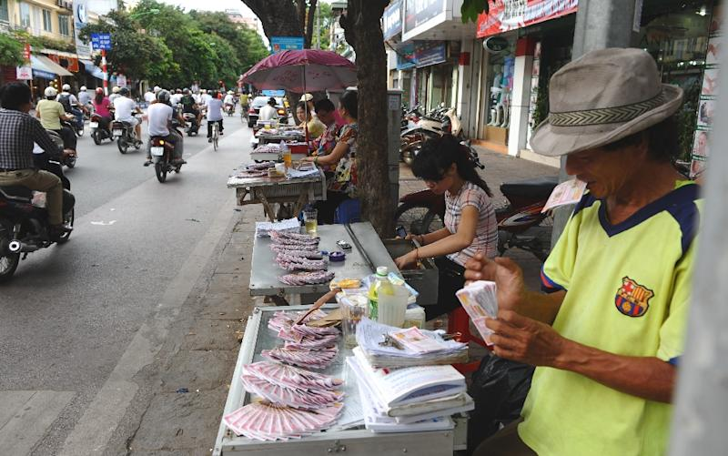 Gambling is illegal in Vietnam outside of a state-run lottery and a few foreigner-only casinos