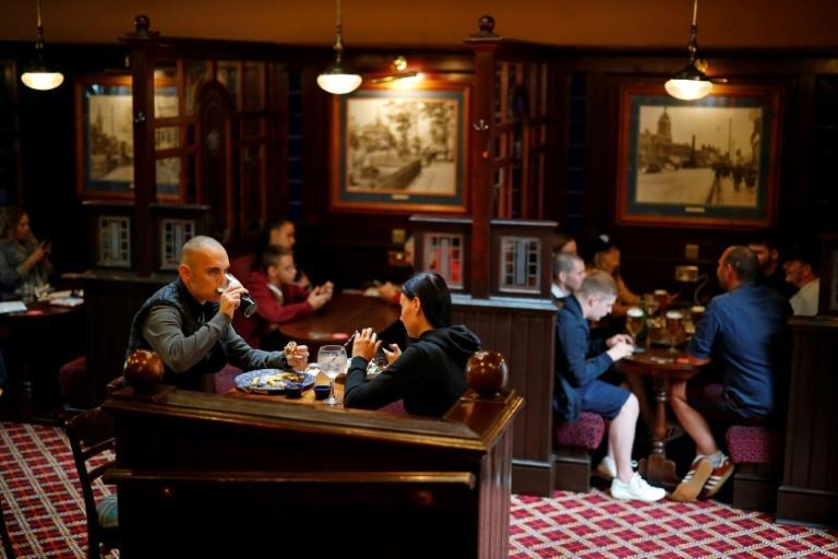 Monday is a major step in the reopening of the badly hit hospitality and leisure sectors in Britain