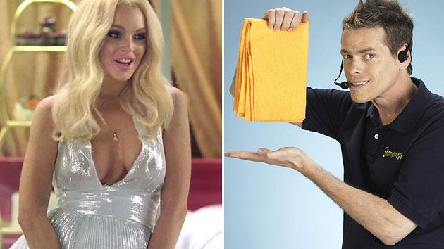 Lindsay Lohan channels Marilyn Monroe in Vince Offer's film 'InAPPropriate Comedy'