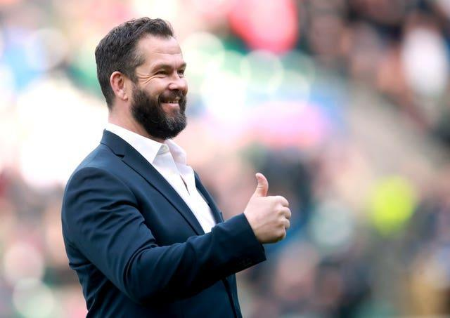 Ireland head coach Andy Farrell, pictured, added Paul O'Connell to his coaching team last month