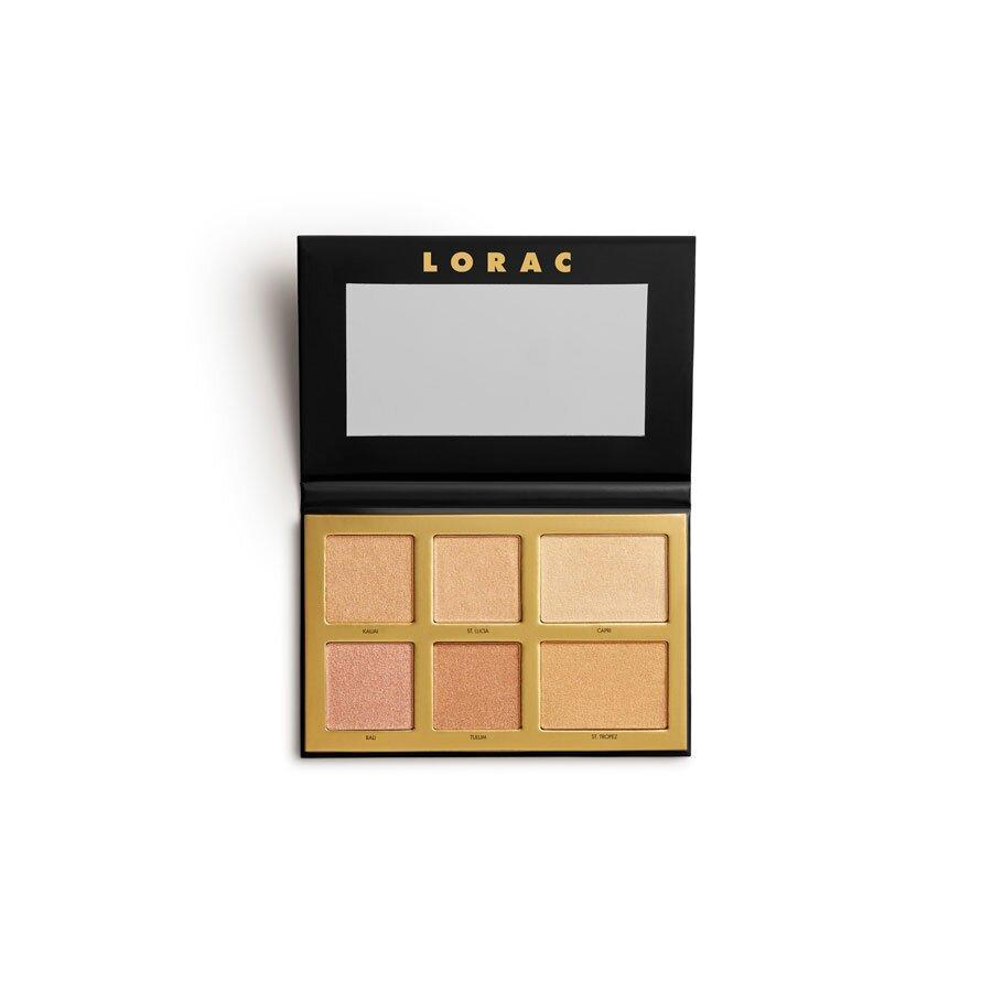 <p>Yes, this summer is going to be different, but you can still glow <em>while</em> staying inside with the help of LORAC's latest palette. With six highlighter shades, every hour is golden hour for your skin.</p>