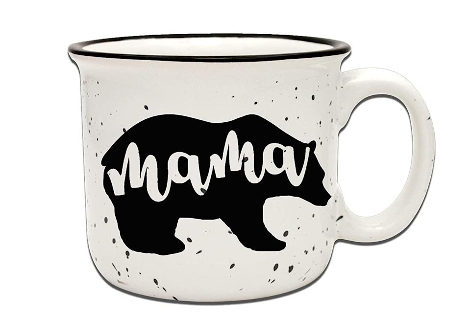 <p>If she loves her coffee and tea, you can't go wrong with the <span>Mama Bear Mug - White</span> ($23). </p>