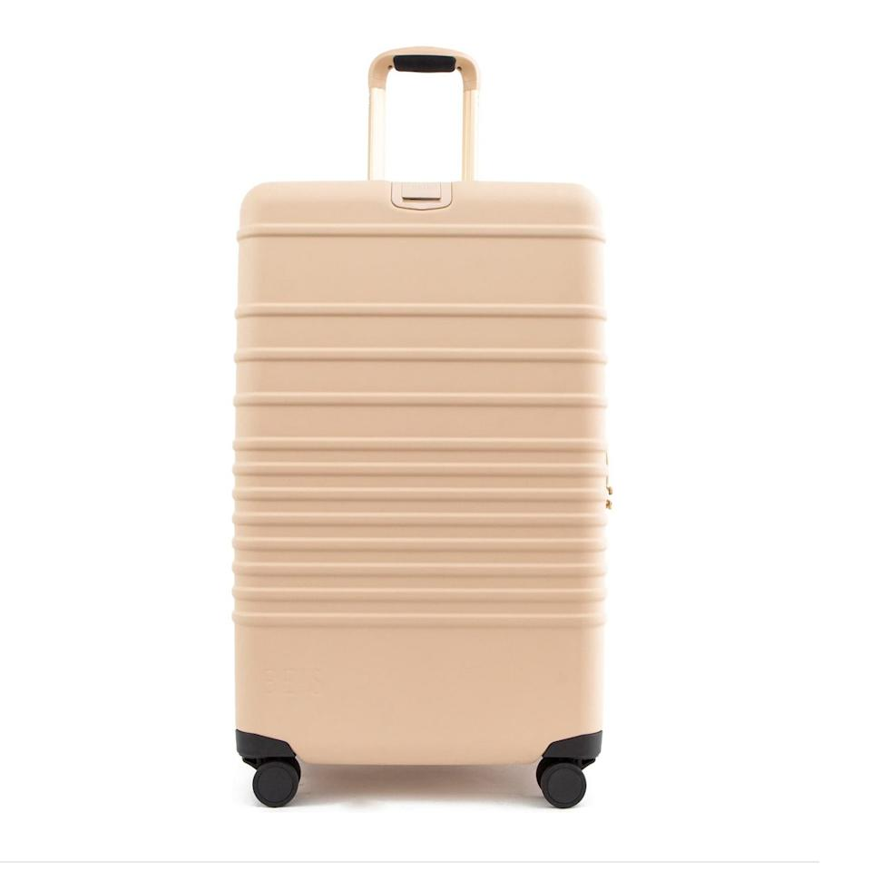 "<p>When a responsible Capricorn travels, it's going to be in style. This high-end suitcase from Béis has organizational pockets and <a href=""https://www.allure.com/story/flight-attendant-skin-care-products-for-post-flying-dryness?mbid=synd_yahoo_rss"" rel=""nofollow"" target=""_blank"">TSA-approved</a> locks, so all their needs will be met (and exceeded) during their next trip to the airport. </p> <p><strong>$198</strong> (<a href=""https://shop.nordstrom.com/s/beis-21-inch-rolling-spinner-suitcase/5318785/full?origin=category-personalizedsort&breadcrumb=Home%2FWomen%2FAccessories%2FLuggage%20%26%20Travel&color=black"" rel=""nofollow"" target=""_blank"">Shop Now</a>)</p>"