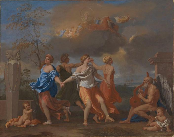'A Dance to the Music of Time' (The Trustees of the Wallace Collection)