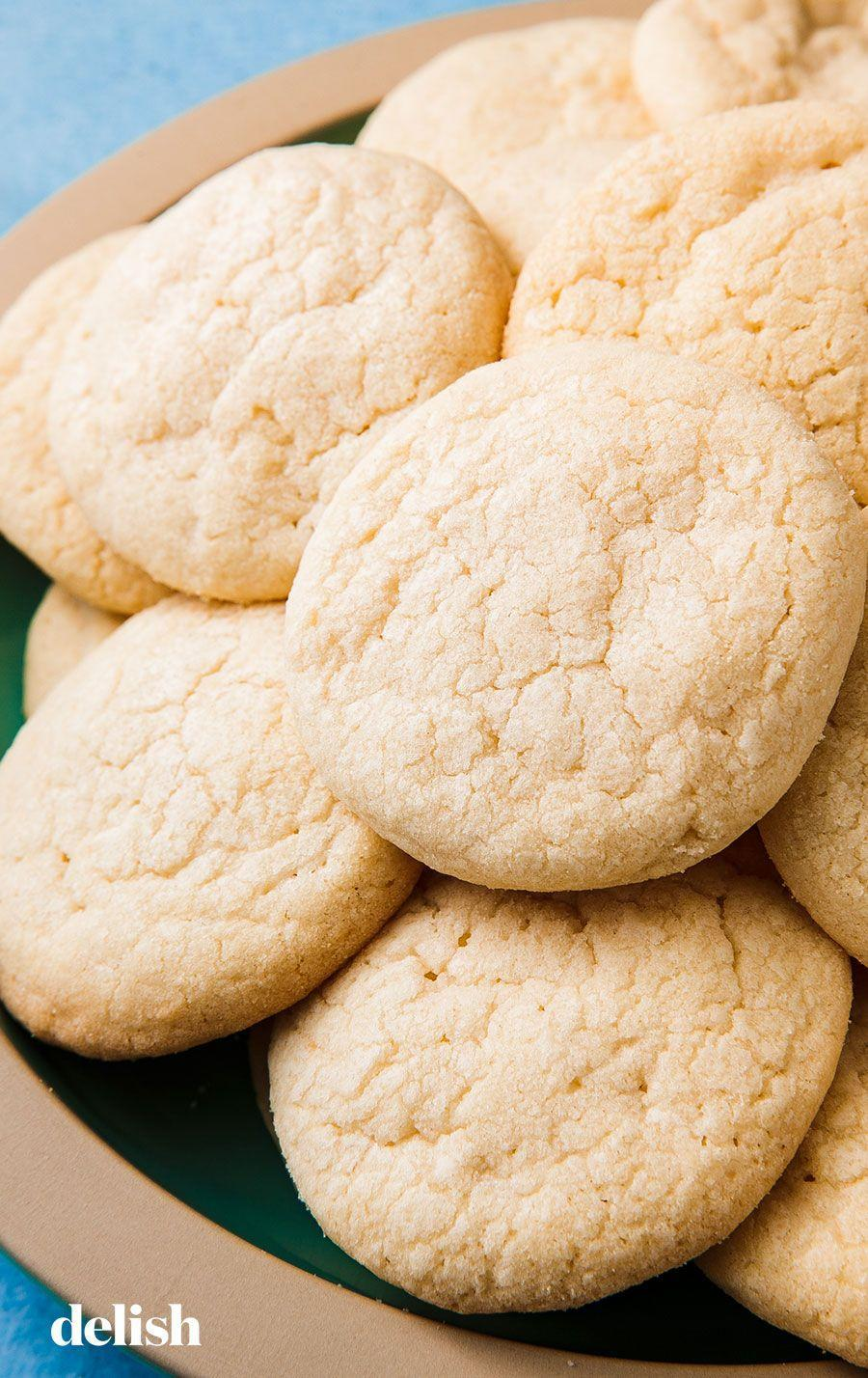 "<p>You can't go wrong with these simple sugar cookies. </p><p>Get the recipe from <a href=""https://www.delish.com/cooking/recipe-ideas/a25482462/wafer-cookies-recipe/"" rel=""nofollow noopener"" target=""_blank"" data-ylk=""slk:Delish"" class=""link rapid-noclick-resp"">Delish</a>.</p>"