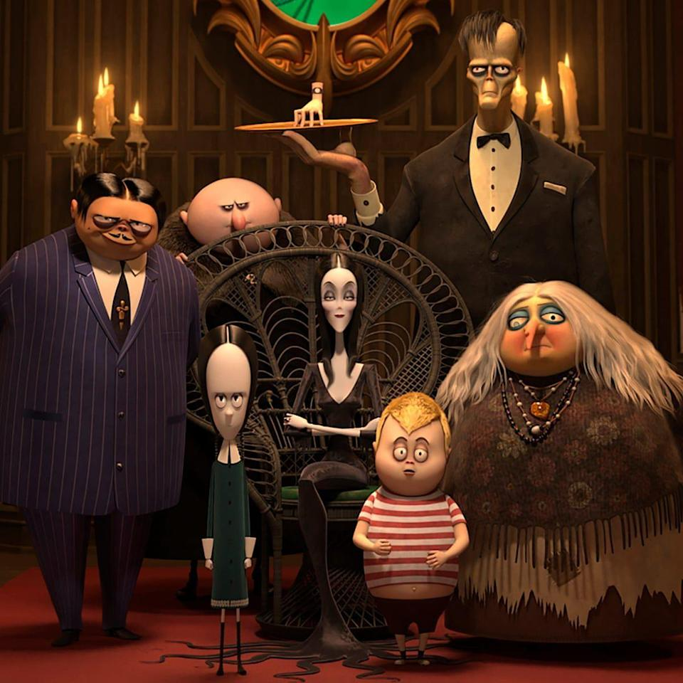 <p>This animated remake follows the spookiest family on their journey after an angry mob disapproves of Gomez and Morticia's wedding ceremony.</p>