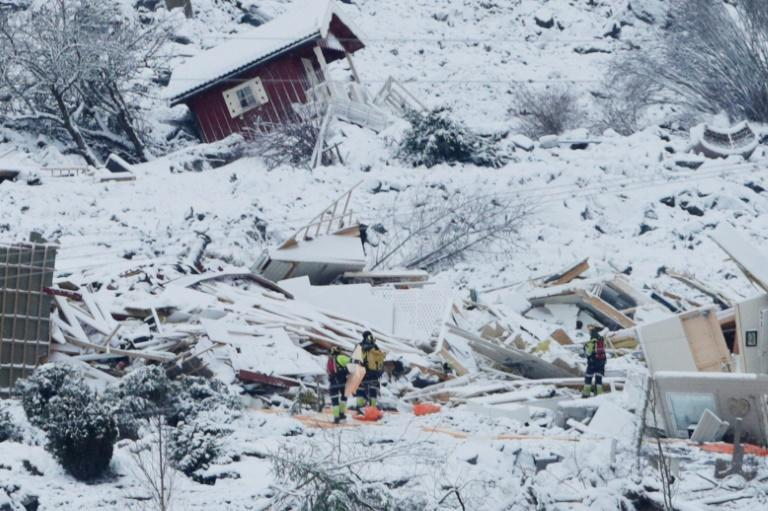 More than 1,000 people have been evacuated since the landslide